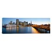iCanvasArt Panoramic San Francisco Pier, San Francisco, Califorina Photographic Print on Canvas