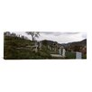iCanvas Panoramic 'Tombstone in a Cemetery, Saxon Church, Biertan, Transylvania, Mures County, Romania' Photographic Print on Canvas