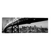 iCanvasArt Panoramic 'San Francisco Skyline Cityscape (Night)' Photographic Print on Canvas