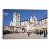 iCanvas Panoramic Basilica of San Francesco D'Assisi, Assisi, Perugia Province, Umbria, Italy Photographic Print on Canvas