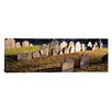 <strong>iCanvasArt</strong> Panoramic Tombstones in a Cemetery, Copp's Hill Burying Ground, Freedom Trail, Boston, Massachusetts Photographic Print on Canvas