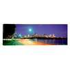 iCanvasArt Panoramic Massachusetts, Boston, Highway along Charles River Photographic Print on Canvas