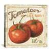 "iCanvas ""Tomatoes on Sale Now (on Special I)"" Canvas Wall Art by Lisa Audit"