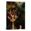 iCanvas 'The Tree of the Knowledge of Good and Evil' by Hieronymus Bosch Painting Print on Canvas