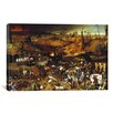 iCanvasArt 'The Triumph of Death' by Pieter Bruegel Painting Print on Canvas