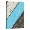 iCanvasArt Vintage Style #2 Canvas Print Wall Art