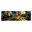 iCanvasArt Panoramic Times Square New York Photographic Print on Canvas
