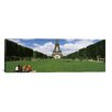 <strong>iCanvasArt</strong> Panoramic Eiffel Tower, Paris, Ile-de-France, France Photographic Print on Canvas