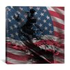 iCanvas Flags Vintage WW2 U.S. Battleship Graphic Art on Canvas