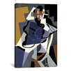 iCanvasArt 'Seated Woman' by Juan Gris Painting Print on Canvas
