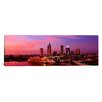 iCanvasArt Panoramic Florida, Tampa, Night Photographic Print on Canvas