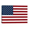 iCanvas Flags U.S.A. Regular Graphic Art on Canvas