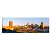 iCanvasArt Panoramic Maryland, Baltimore, High Angle View from Federal Hill Park of Inner Harbor Area and Skyline Photographic Print on Canvas