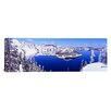 iCanvas Panoramic Oregon, Crater Lake National Park Photographic Print on Canvas