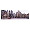 iCanvas Panoramic St. Nicolas Church, Ghent, Belgium Photographic Print on Canvas
