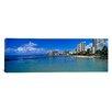 iCanvasArt Panoramic Waikiki Beach Honolulu Oahu HI Photographic Print on Canvas