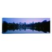 iCanvas Panoramic New York State, New York City, Central Park Lake, Skyscrapers in a City Photographic Print on Canvas