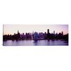 iCanvasArt Panoramic New York State, New York City, Skyscrapers in a City Photographic Print on Canvas