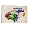iCanvas 'VW Beetle (Urban)' by Michael Tompsett Graphic Art on Canvas