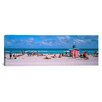 <strong>iCanvasArt</strong> Panoramic Miami, Florida Photographic Print on Canvas