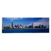 iCanvas Panoramic Skyline from Lake Michigan, Chicago, Illinois Photographic Print on Canvas