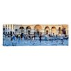 <strong>iCanvasArt</strong> Panoramic St. Mark's Basilica, Piazza San Marco, Venice, Italy Photographic Print on Canvas