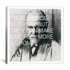<strong>Sigmund Freud Quote Canvas Wall Art</strong> by iCanvasArt
