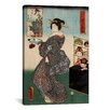 iCanvas Japanese Art 'Shirahige Myojin Shrine' by Kunisada (Toyokuni) Painting Print on Canvas