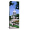 iCanvas Panoramic Wisconsin, Madison, State Capital Building Photographic Print on Canvas