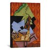 iCanvas 'Violin and Playing Cards on a Table' by Juan Gris Painting Print on Canvas