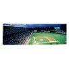 <strong>iCanvasArt</strong> Panoramic Illinois, Chicago, Cubs, Baseball Photographic Print on Canvas