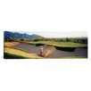 iCanvas Panoramic Side Profile of a Man Playing Golf, Tucson, Arizona Photographic Print on Canvas