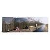 iCanvasArt Panoramic Vietnam Veterans Memorial, Washington, D.C Photographic Print on Canvas