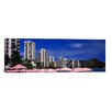 iCanvas Panoramic 'Skyscrapers at the Waterfront, Honolulu, Oahu, Hawaii' Photographic Print on Canvas