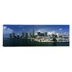 <strong>Panoramic Biscayne Bay, Ocean Drive, South Beach, Miami Beach, Flor...</strong> by iCanvasArt