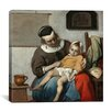 "<strong>iCanvasArt</strong> ""The Sick Child"" Canvas Wall Art by Gabriel Metsu"