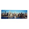 iCanvasArt Panoramic 'Navy Pier, Chicago Harbor, Chicago, Cook County, Illinois, 2011' Photographic Print on Canvas