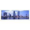 iCanvas Panoramic Skyscrapers at the Waterfront, Main Street Bridge, St. John's River, Jacksonville, Florida Photographic Print on Canvas
