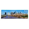 <strong>iCanvasArt</strong> Panoramic Skyscrapers in a City, Liberty Tower, Comcast Center, Philadelphia, Pennsylvania Photographic Print  on Canvas