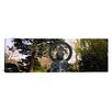 <strong>iCanvasArt</strong> Panoramic Statue of Buddha in a Park, Japanese Tea Garden, Golden Gate Park, San Francisco, California Photographic Print on Canvas