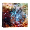 iCanvasArt Star Cluster on Collision Course (Hubble Space Telescope) Canvas Wall Art