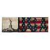 iCanvas Flags Statue of Liberty, Constitution Graphic Art on Canvas