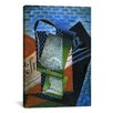 iCanvasArt 'Still Life (Dedicated to Andre Salmon)' by Juan Gris Painting Print on Canvas