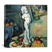 "iCanvas ""Still Life with Cherub"" Canvas Wall Art by Paul Cezanne"