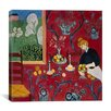 "iCanvas ""The Red Room (1908)"" Canvas Wall Art by Henri Matisse"