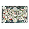 "iCanvasArt ""Star- Zodiac Chart"" Canvas Wall Art by Frederik Wit"