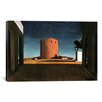 """iCanvas """"The Red Tower"""" Canvas Wall Art by Giorgio de Chirico"""