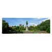 iCanvas Panoramic Statue in a Garden, Boston Public Gardens, Boston, Massachusetts Photographic Print on Canvas