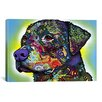 iCanvas 'The Rottweiler' by Dean Russo Graphic Art on Canvas