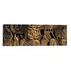 iCanvas Panoramic Sculptures in a Temple, Bayon Temple, Angkor, Cambodia Photographic Print on Canvas